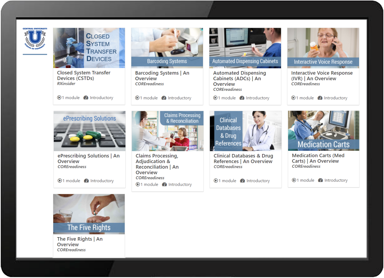 Health Systems Learning Center Example