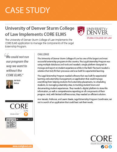 Case Study on University of Denver