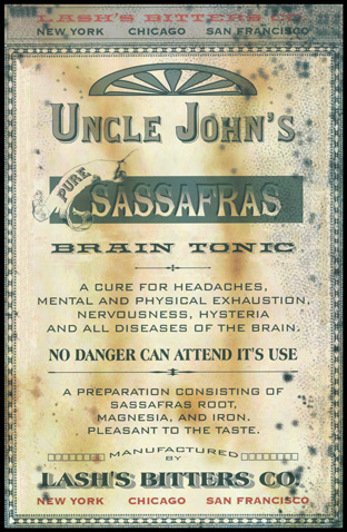 1892 - Uncle John's Sassafras