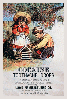 1889 - Cocaine Toothache Drops