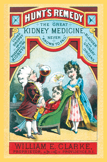 1889 - Hunt's Kidney Remedy