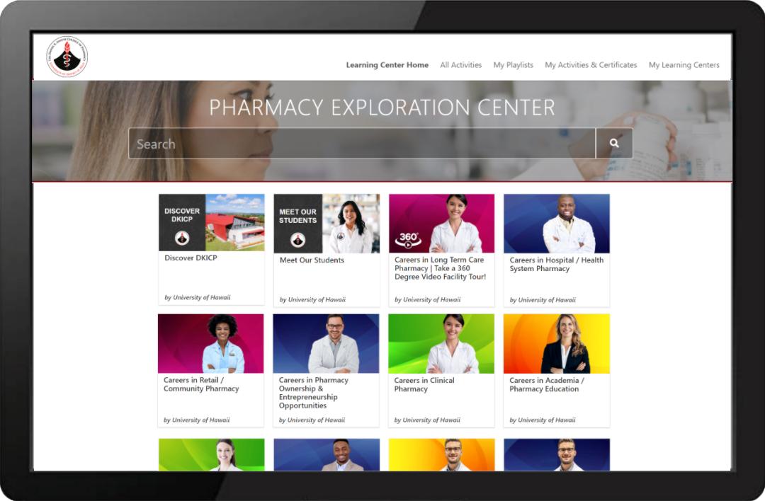 Pharmacy Exploration Learning Center Example